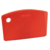 Red Mini Bench Scraper