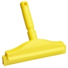 "Yellow 10"" Double Blade Bench Squeegee"