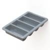 """Gray Cutlery Tray - 21-1/2"""" L x 13"""" W x 4"""" H"""