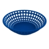 Blue Round Food Basket