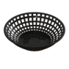 Black Round Food Basket