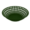 Green Round Food Basket