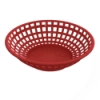 Red Round Food Basket