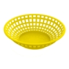 Yellow Round Food Basket