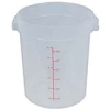 8 Quart Round Food Storage Container (Lid Sold Separately)
