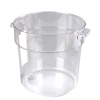 18 Quart Clear StorPlus™ Round Food Storage Container (Lid Sold Separately)