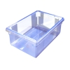 "5 Gallon Blue StorPlus™ Color-Coded Food Storage Box 18"" x 12"" x 9"" (Lids sold separately)"