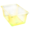 "16.6 Gallon Yellow StorPlus™ Color-Coded Food Storage Box 26"" x 18"" x 12"" (Lids sold separately)"
