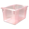 "21.5 Gallon Red StorPlus™ Color-Coded Food Storage Box 26"" x 18"" x 15"" (Lids sold separately)"
