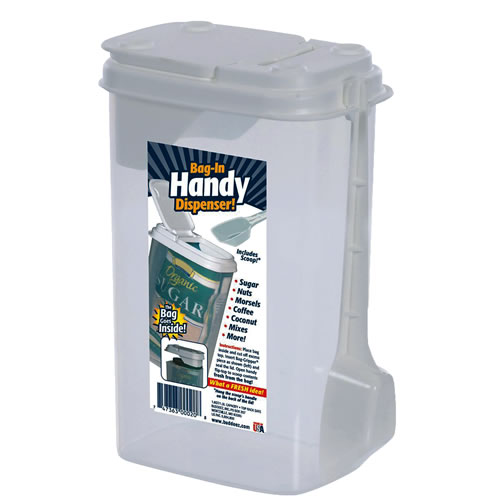 Bag-In Dispenser® Handy  Dispenser with Attached Scoop