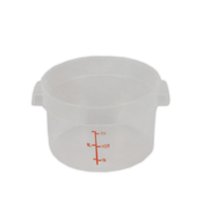 2 Quart Round Food Storage Container (Lid Sold Separately)