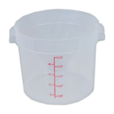 6 Quart Round Food Storage Container (Lid Sold Separately)