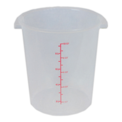 """12 Quart Container, 12"""" H x 10"""" D"""