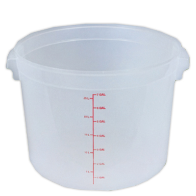 32 Quart Round Food Storage Container (Lid Sold Separately)