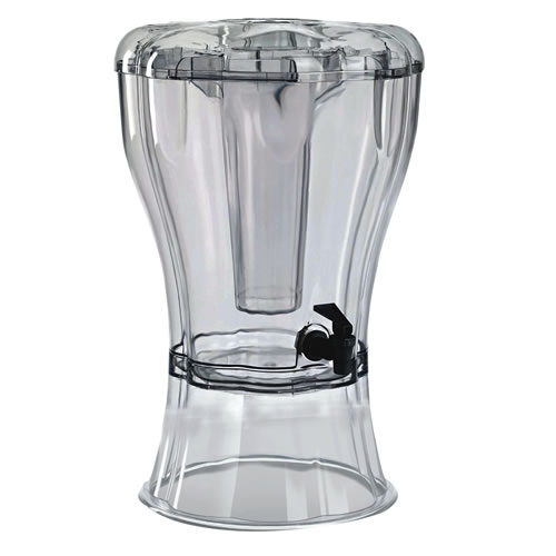 Buddeez® Tritan™ 3.5 Gallon Beverage Dispenser with Ice Cone™