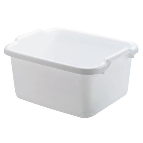"""Rubbermaid® White HDPE Pan - 12-1/4""""L x 15-1/2""""W x 7-3/4""""H"""