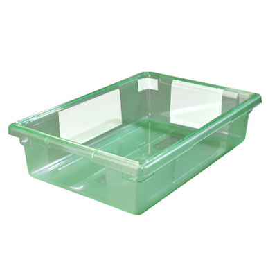"3.5 Gallon Green StorPlus™ Color-Coded Food Storage Box 18"" x 12"" x 6"" (Lids sold separately)"