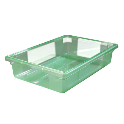 "8.5 Gallon Green StorPlus™ Color-Coded Food Storage Box 26"" x 18"" x 6"" (Lids sold separately)"