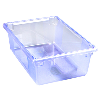 "12.5 Gallon Blue StorPlus™ Color-Coded Food Storage Box 26"" x 18"" x 9"" (Lids sold separately)"