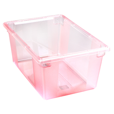 "16.6 Gallon Red StorPlus™ Color-Coded Food Storage Box 26"" x 18"" x 12"" (Lids sold separately)"