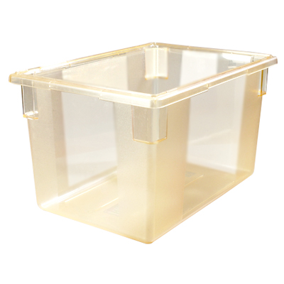 "21.5 Gallon Yellow StorPlus™ Color-Coded Food Storage Box 26"" x 18"" x 15"" (Lids sold separately)"