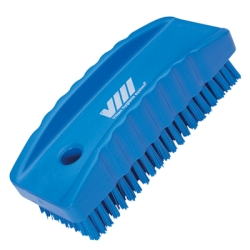 Blue Nail Brush w/Stiff Bristles