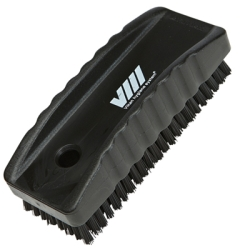 Black Nail Brush w/Stiff Bristles
