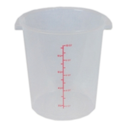 12 Quart Round Food Storage Container (Lid Sold Separately)