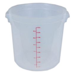 40 Quart Round Food Storage Container (Lid Sold Separately)