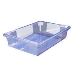 "8.5 Gallon Blue StorPlus™ Color-Coded Food Storage Box 26"" x 18"" x 6"" (Lids sold separately)"