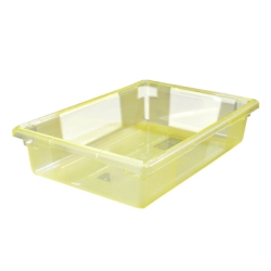 "8.5 Gallon Yellow StorPlus™ Color-Coded Food Storage Box 26"" x 18"" x 6"" (Lids sold separately)"