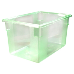 "21.5 Gallon Green StorPlus™ Color-Coded Food Storage Box 26"" x 18"" x 15"" (Lids sold separately)"