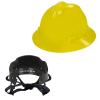 V-Gard® Full Brim Yellow HDPE Hat with Pinlock System
