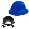V-Gard® Full Brim Blue HDPE Hat with Pinlock System
