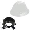 V-Gard® Full Brim White HDPE Hat with Pinlock System