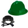 V-Gard® Full Brim Green HDPE Hat with Pinlock System