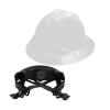 V-Gard® Full Brim White HDPE Hat with Ratchet System