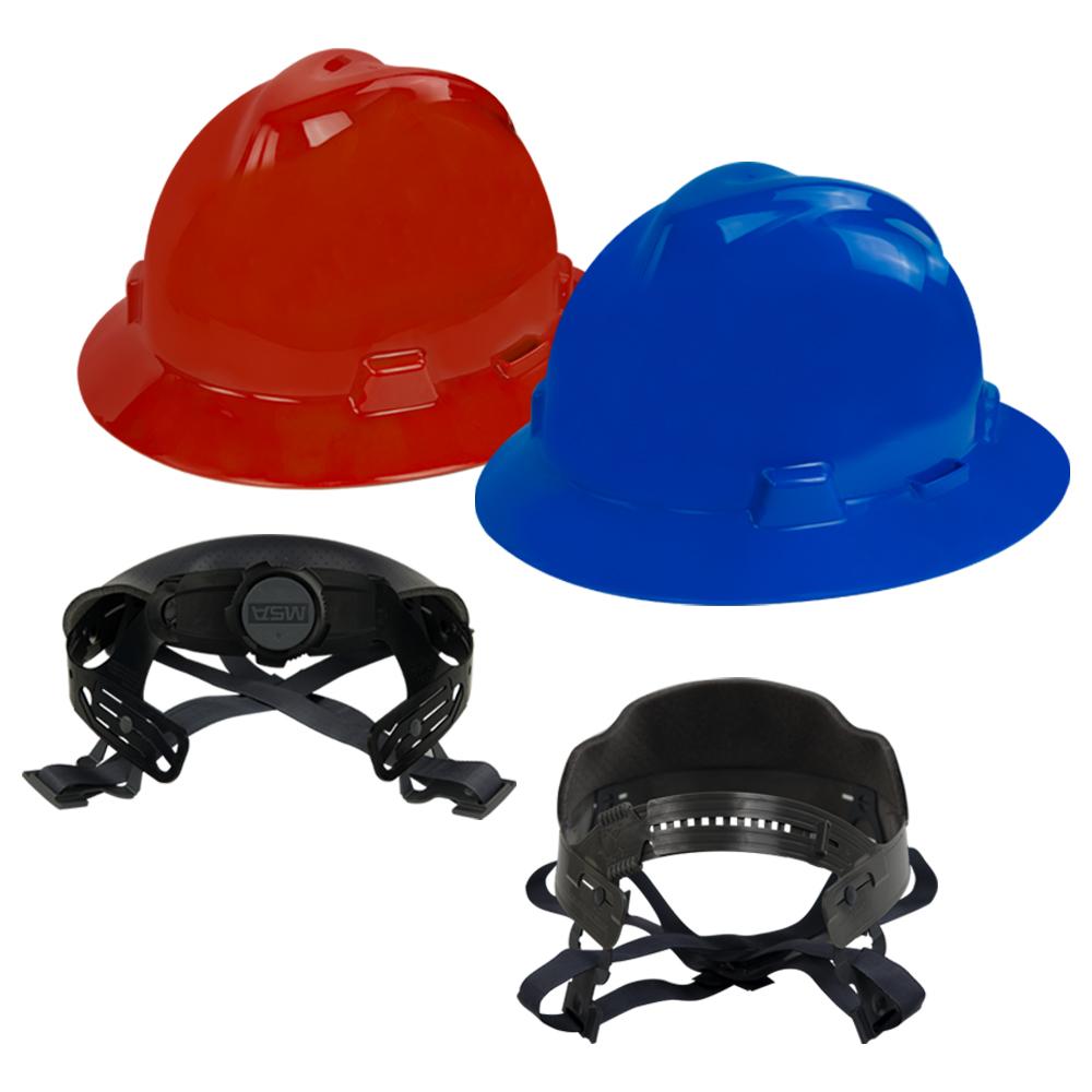 V-Gard® Protective Full Brim Hard Hats