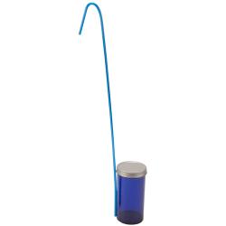 250mL Blue Dippas™ Sterile Vials with Metal Caps & 330mm Handles
