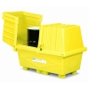 Poly-Safetypack® Yellow ack with Lid