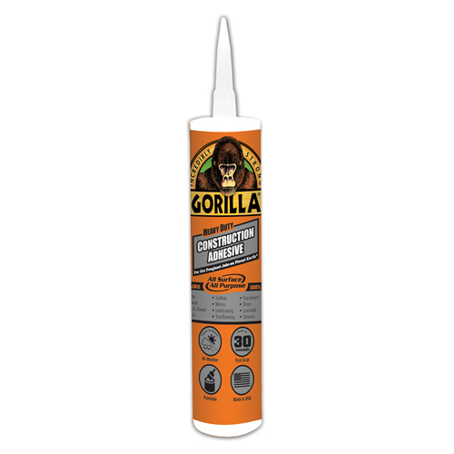 Gorilla® Heavy Duty Construction Adhesive
