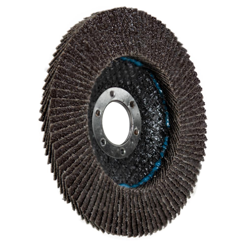 """4.5"""" Aluminum Oxide 40 Grit Flap Discs"""