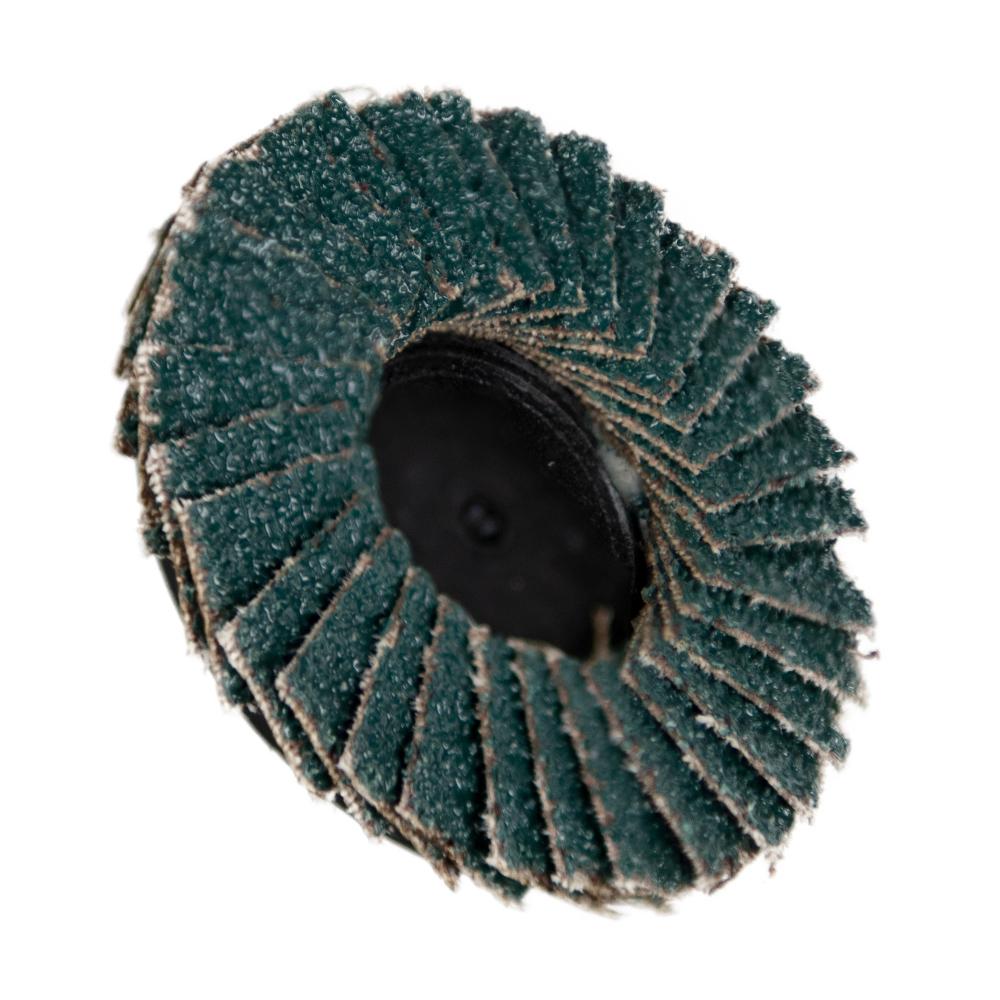 "2"" Zirconia Roloc® Type 40 Grit Mini Flap Discs"