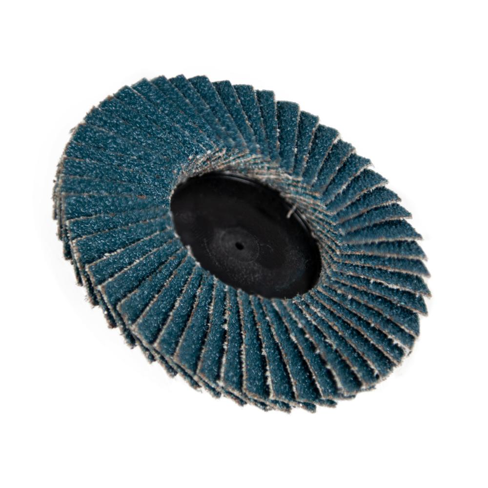 "3"" Zirconia Roloc® Type 60 Grit Mini Flap Discs"
