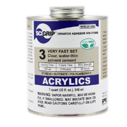 IPS® Weld-On® 3™ Acrylic Cement