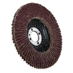 """4"""" Aluminum Oxide 40 Grit Flap Discs"""