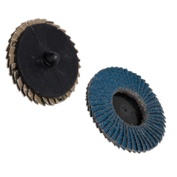 Zirconia Roloc® Type Mini Flap Discs & Holders