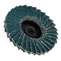 "2"" Zirconia Roloc® Type 60 Grit Mini Flap Discs"