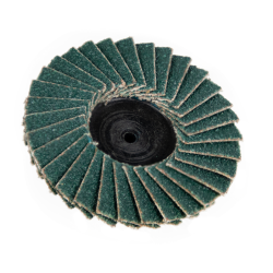 "2"" Zirconia Roloc® Type 80 Grit Mini Flap Discs"
