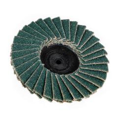 "2"" Zirconia Roloc® Type 80 Grit Mini Flap Discs"
